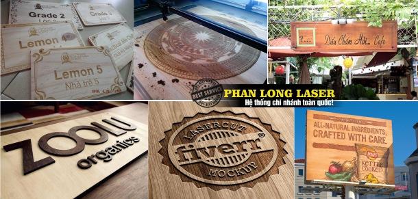 Làm Biển Quảng cáo Gỗ, Biển quảng cáo chữ gỗ nổi tại Bình Thủy, Ninh Kiều Cần Thơ