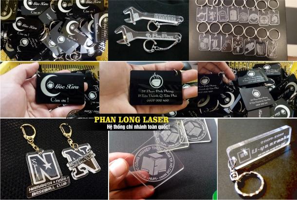 Sản xuất móc khóa nhựa và sản xuất móc khóa mica ở Cần Thơ