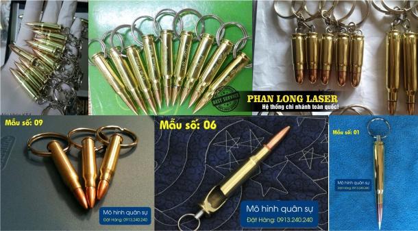Sản xuất móc khóa vỏ đạn tại Cần Thơ